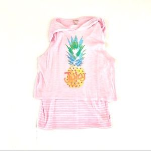 Juicy Couture Pineapple Tank Top